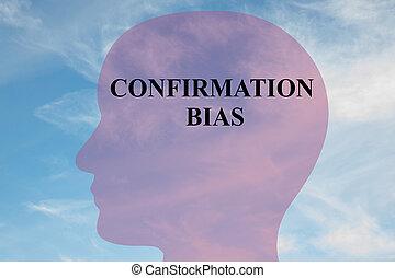 bias, 確認, 概念, -, 精神