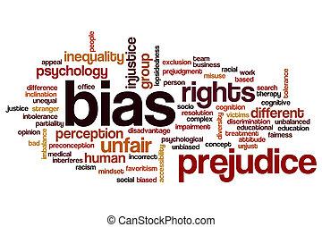 bias, mot, nuage