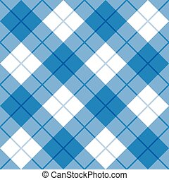 bias, pléd, alatt, blue white
