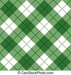 bias, pléd, alatt, zöld white