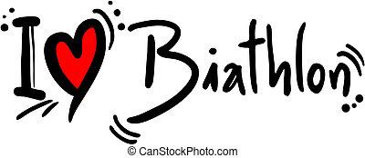 Biathlon love