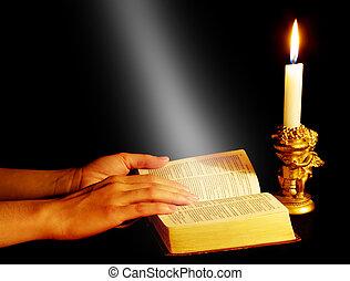 bibbia aperta