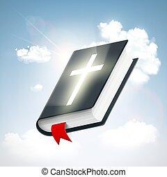 bibel, himmel, hellige