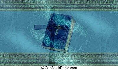 bible, croix