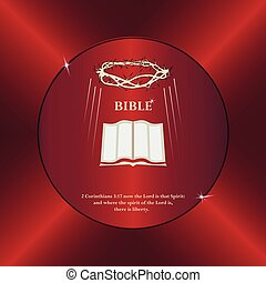 Bible, crown of thorns