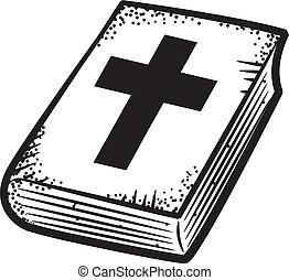 bible, griffonnage