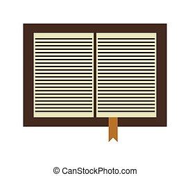 bible icon illustrated in vector on white background