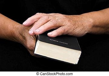 bible, mains