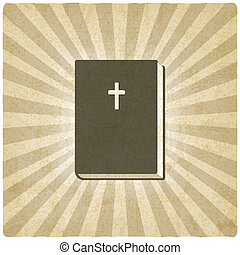 Bible old background - vector illustration. eps 10