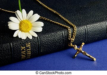 Bible / Old Crucifix