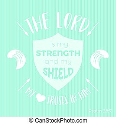 bible quote typographic for printing t-shirt or using in...