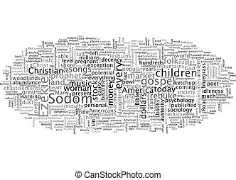 Bible Road Map Or the Road Less Traveled text background wordcloud concept