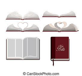 bible sainte, conception