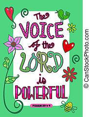 Bible Scripture Art Poster
