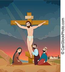 Bible Story Illustration