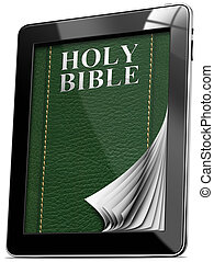 Bible - Tablet computer with Pages