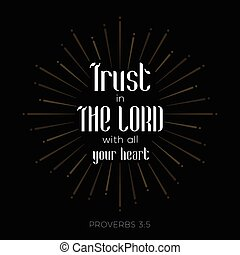 bible verse for christian or catholic about trust in god ...