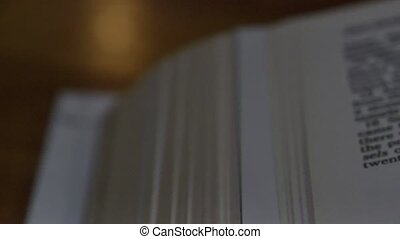 Bible-Zechariah - A slow, shallow depth of field, candle lit...