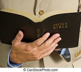 biblia, dzierżawa, człowiek