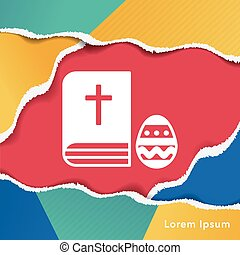 biblia, ikona