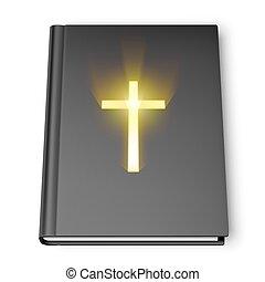 biblia, libro, santo