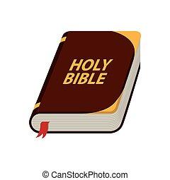 biblia, projektować, święty