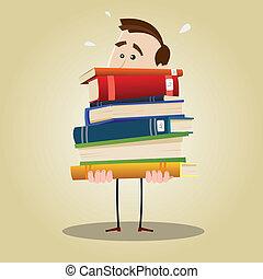 bibliotecario, ocupado