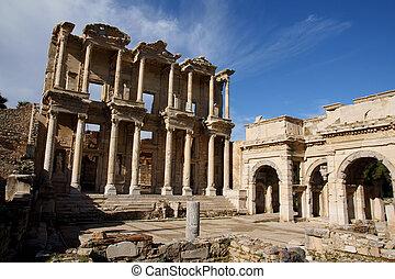bibliothèque celsus, ephesus