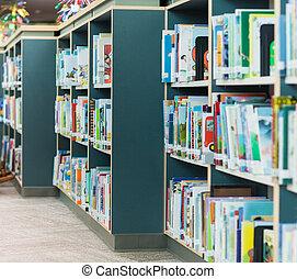 bibliothèque scolaire