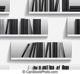 bibliotheek, planken