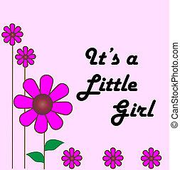 biby, dziewczyna, karta