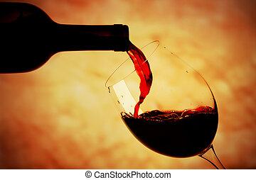 Bicchiere di vino rosso 3