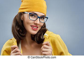 bicchieri indossare