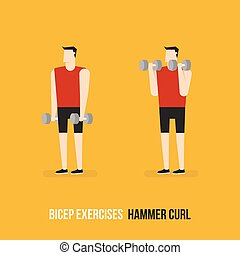 Bicep Exercises.