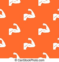 Biceps pattern seamless