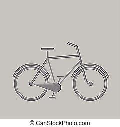 bicicleta, ícone