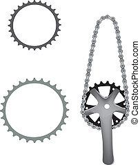 bicicleta, accesorio