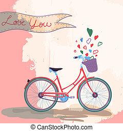 bicicleta, amores, tu
