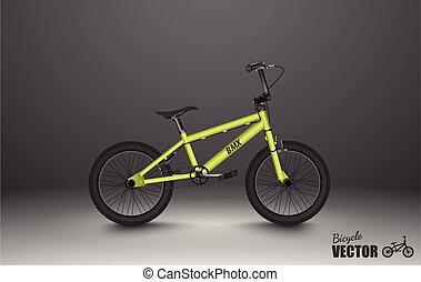 bicicleta, bmx