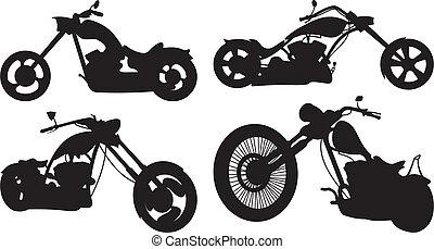bicicleta, -, chopper