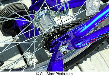 bicicleta, corrente