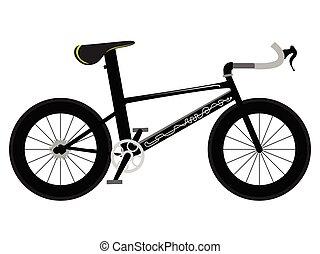 bicicleta de carreras, icono