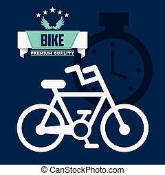 bicicleta, desporto