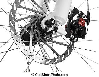 bicicleta, disco, freio