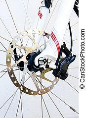 bicicleta, frenos