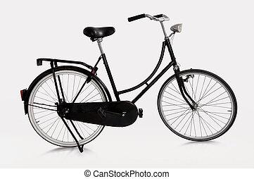 bicicleta, holandés