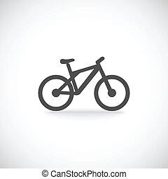 bicicleta, icono