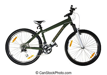 bicicleta, (isolated)