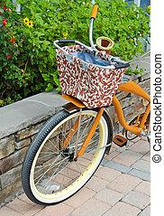 bicicleta, retro-style