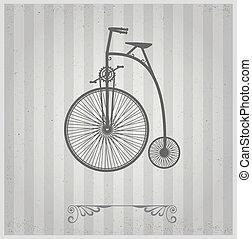 bicicleta velha